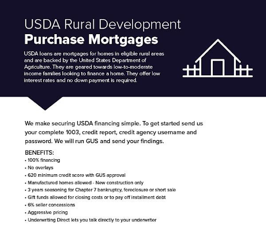Kentucky Rural Housing USDA Credit and Income Guidelines for 2018
