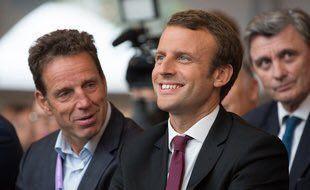 Macron et les présidents du Medef, hier et aujourd'hui
