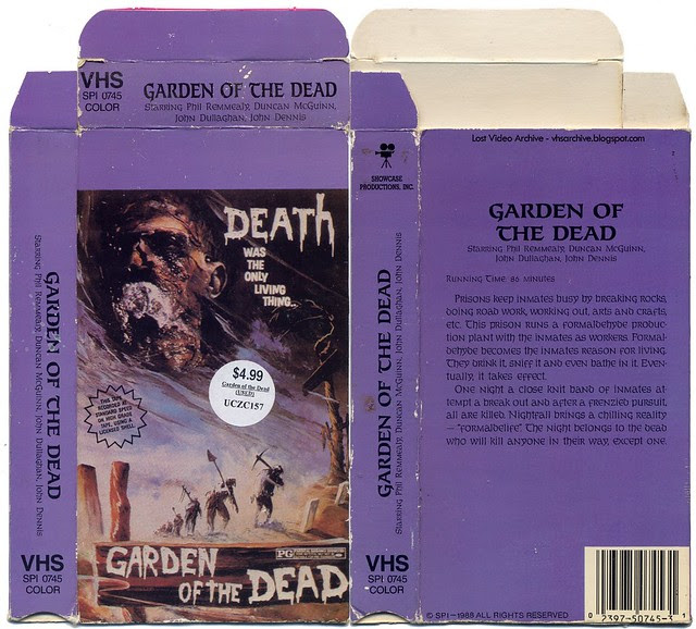 Garden of the Dead (VHS Box Art)