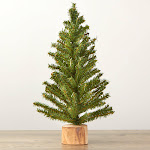 Factory Direct Craft Artificial Christmas Tree, 18'' High, Green, Craft Supplies