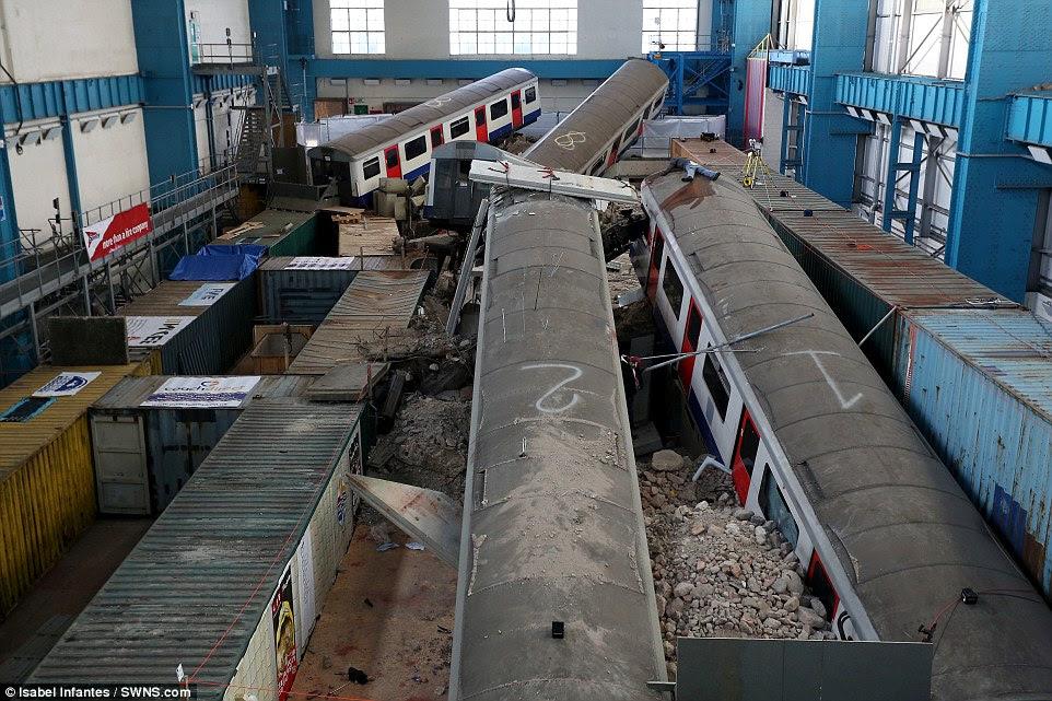 Καταστροφή απεργίες: Το τρυπάνι επιτρέπει στους εργαζομένους διάσωσης σε ολόκληρη την Ευρώπη για να practisce τις δεξιότητες που θα χρειαστεί σε περίπτωση τρομοκρατικής επίθεσης