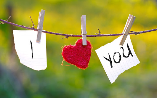 "5 Ways to say ""I Love You."""