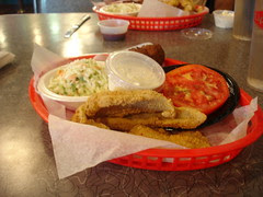 fried catfish at soul fish