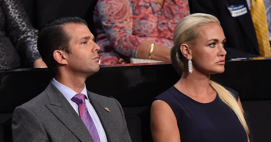 Vanessa Trump, Donald Trump Jr.'s Wife, Files for Divorce