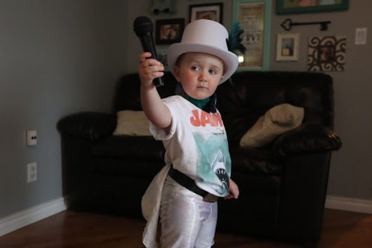 Trenton boy dressed up as pint-sized Gord Downie captures hearts