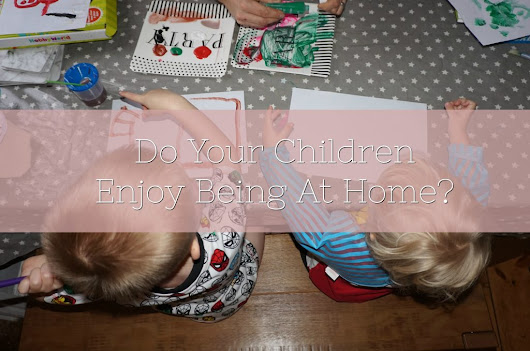 Do Your Children Enjoy Being At Home? - Lamb & Bear