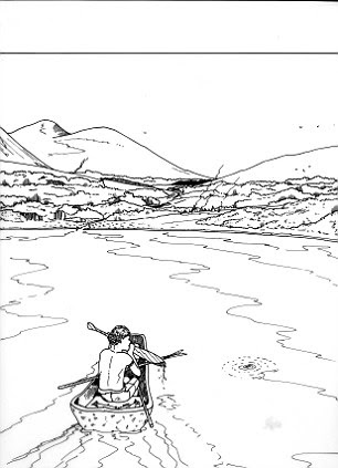 St Andrews University's artists' impression of life in Doggerland