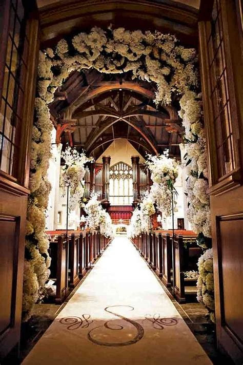 church wedding decorations  trusted wedding source
