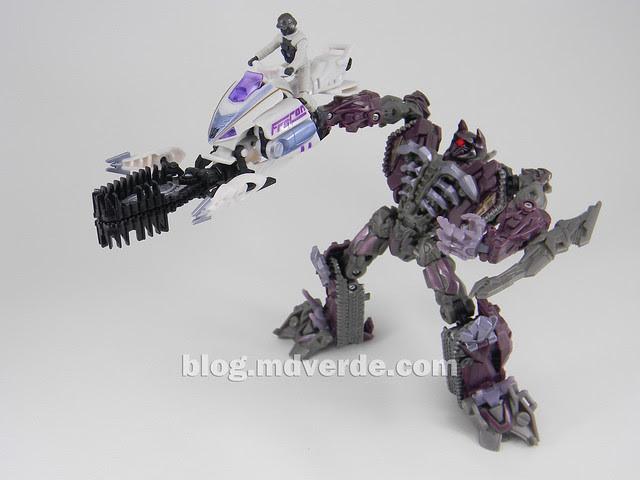 Transformers Icepick DotM Human Alliance - modo arma MechTech con Shockwave