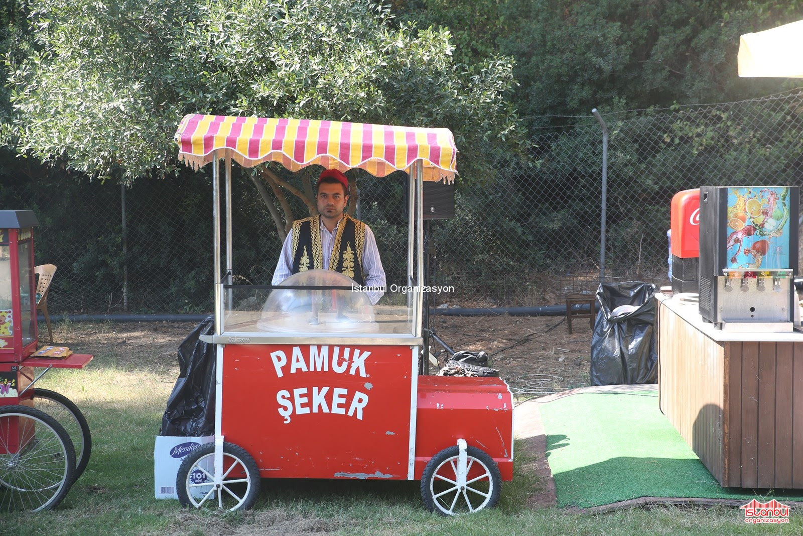 Pamuk şeker Ve Pamuk Helvacı Istanbul Organizasyon