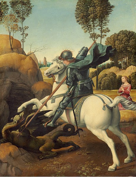 Vaizdas:St George by Raphael.jpg