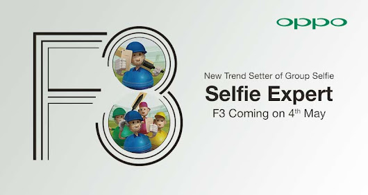 OPPO Pakistan will Launch Selfie Expert F3 Smartphone on May 4