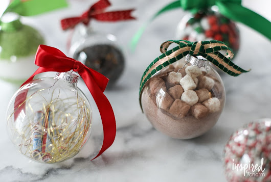 Holiday Gifting with Clear Glass Ornaments