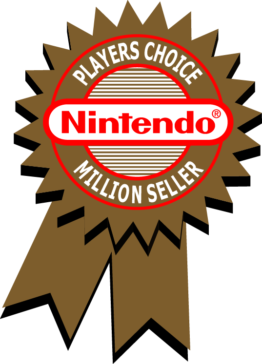 Nintendo Players Choice Million Seller Badge by gamescanner
