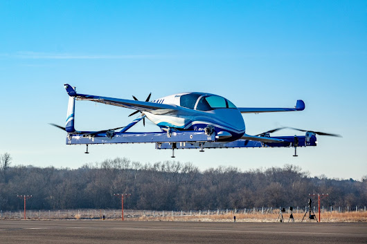 Boeing's electric autonomous passenger air vehicle just had its first flight - MIT Technology Review