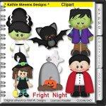 Fright Night Clipart - CU