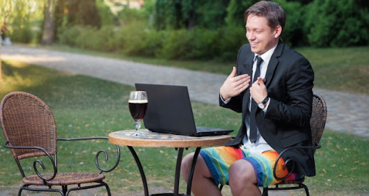 Why It's Important to Dress the Part for Online Meetings