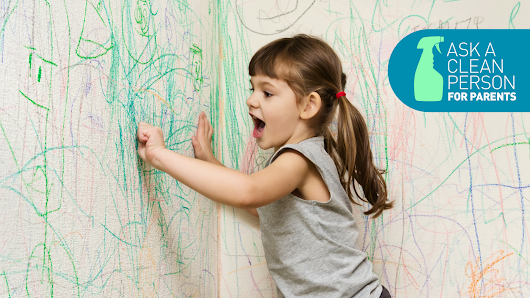How to Remove Crayon Stains From Absolutely Everything