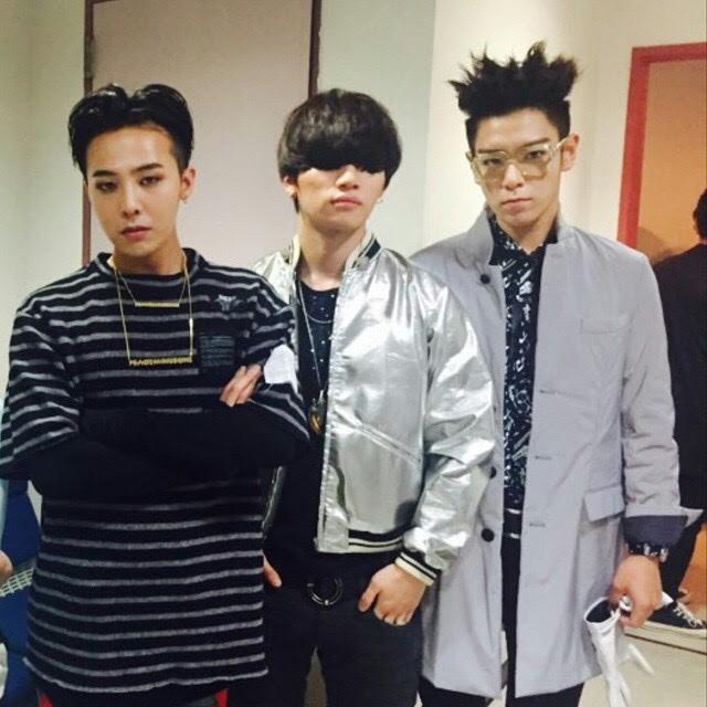 Photo Bluemint77 Instagram With T O P Daesung And G Dragon ˹…ë±… Bigbangmusic