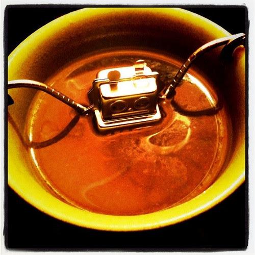 robot tea-strainer