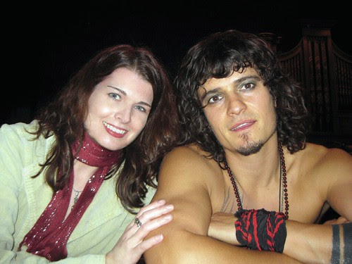 Me and Orlando Bloom