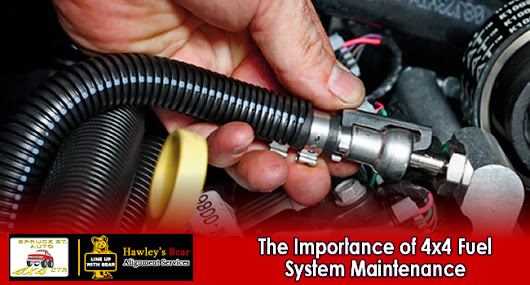 The Importance of Fuel System Maintenance for Your 4x4