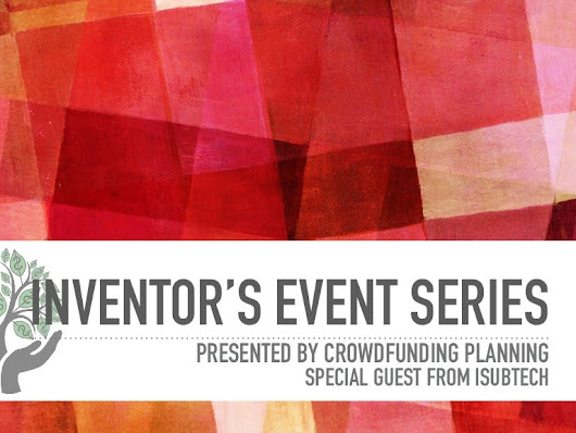 Inventor's Event Series | Inventor 101 | March 30, 2016