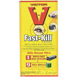 Victor Fast-Kill Refillable Bait Station - 9 Baits