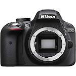 Nikon D3300 24.2 MP Digital SLR Camera - Black - AF-S VR DX 18-55mm Lens