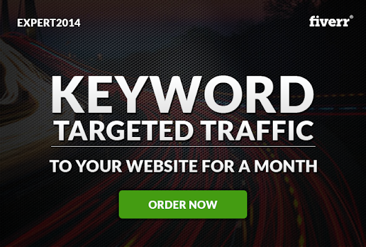 I will send Keyword Targeted Traffic to your website for one month for $5