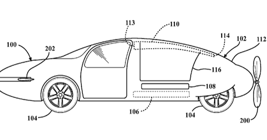 Is Toyota planning flying cars? They just patented an 'aero car' fuselage