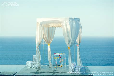 SKY WATER WEDDING scenery Ocean chapel wedding