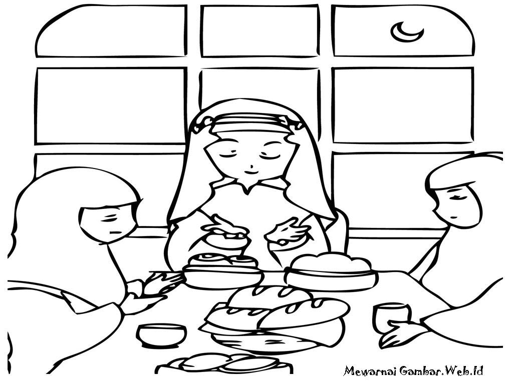 Gambar Keluarga Makan Bersama Makan Makan Petang Bersama Keluarga