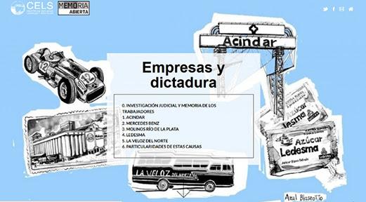 Empresas y dictadura