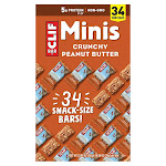 Clif Bars Crunchy Peanut Butter Minis - 34 ct
