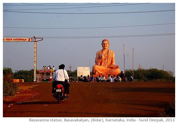 Basavanna and poet saints of Karnataka - images by Sunil Deepak, 2013