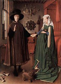 The Arnolfini Portrait by Jan van Eyck, National Gallery, London
