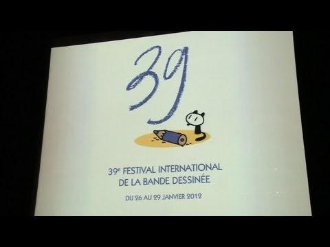 Art Spiegelman, président du festival d'angoulème.