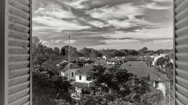 Vista al barrio de Agronomía desde la habitación de Cortázar