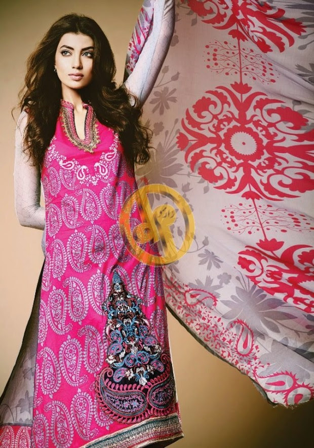 Dawood-Textile-Girls-Women-Printed-Lawn-Prints-Fashion-Suits-Kuki-Concepts-Fall-Winter-Collection 2013-14-5
