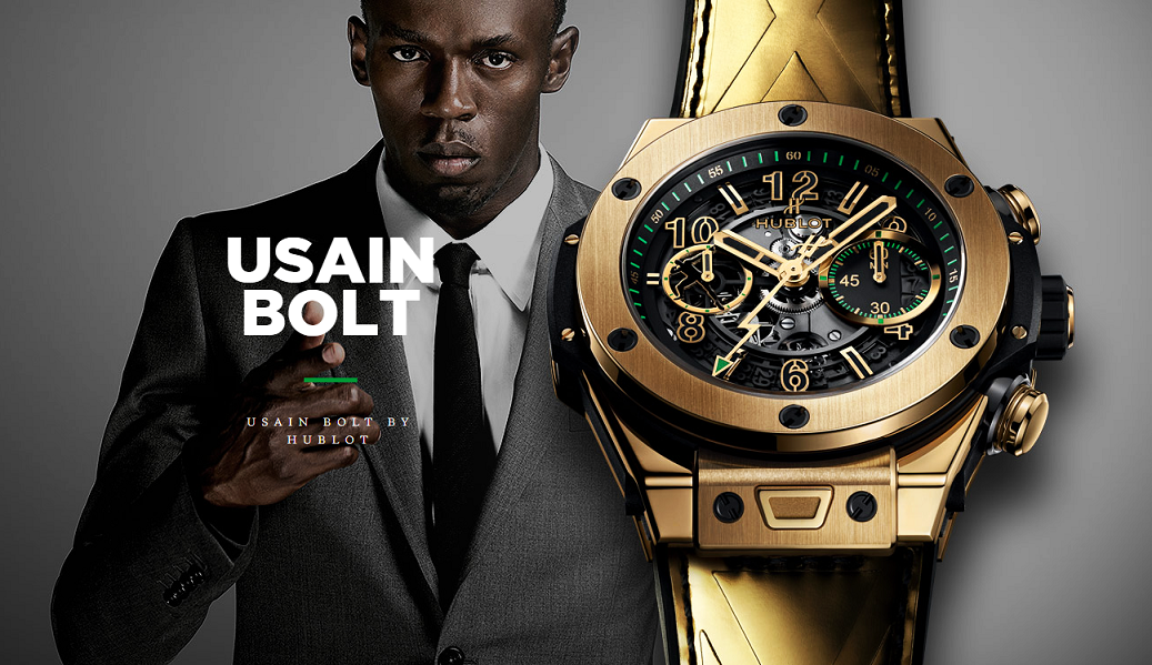 usain bolt hublot 556
