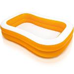 Intex 57181EP 7.5ft x 4.8ft x 18in Mandarin Swim Center Inflatable Pool, Orange by VM Express
