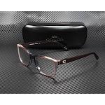 COACH HC6129 5534 Taupe Laminate Demo Lens 52 mm Women's Eyeglasses