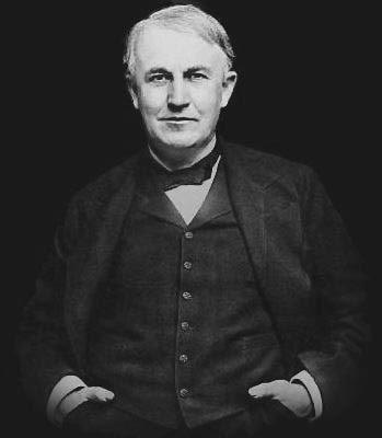 Resultado de imagem para Thomas Edison