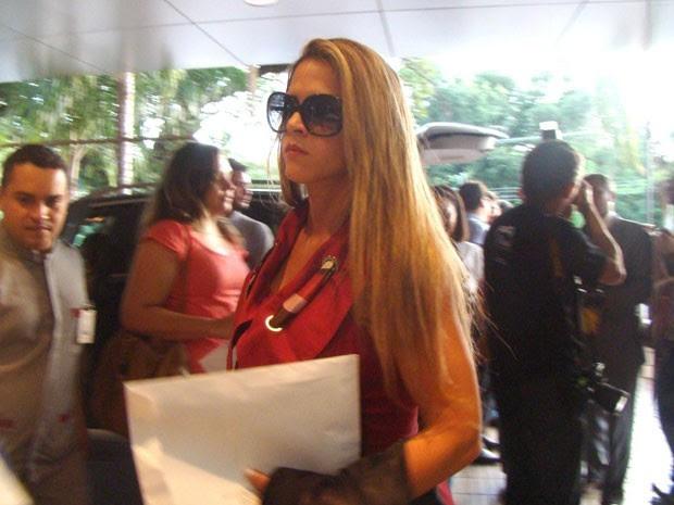 A ex-assessora Denise Rocha em foto de maio deste ano (Foto: Yala Sena/Arquivo pessoal)