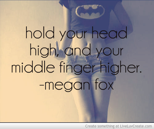 Quotes About Holding My Head High 15 Quotes