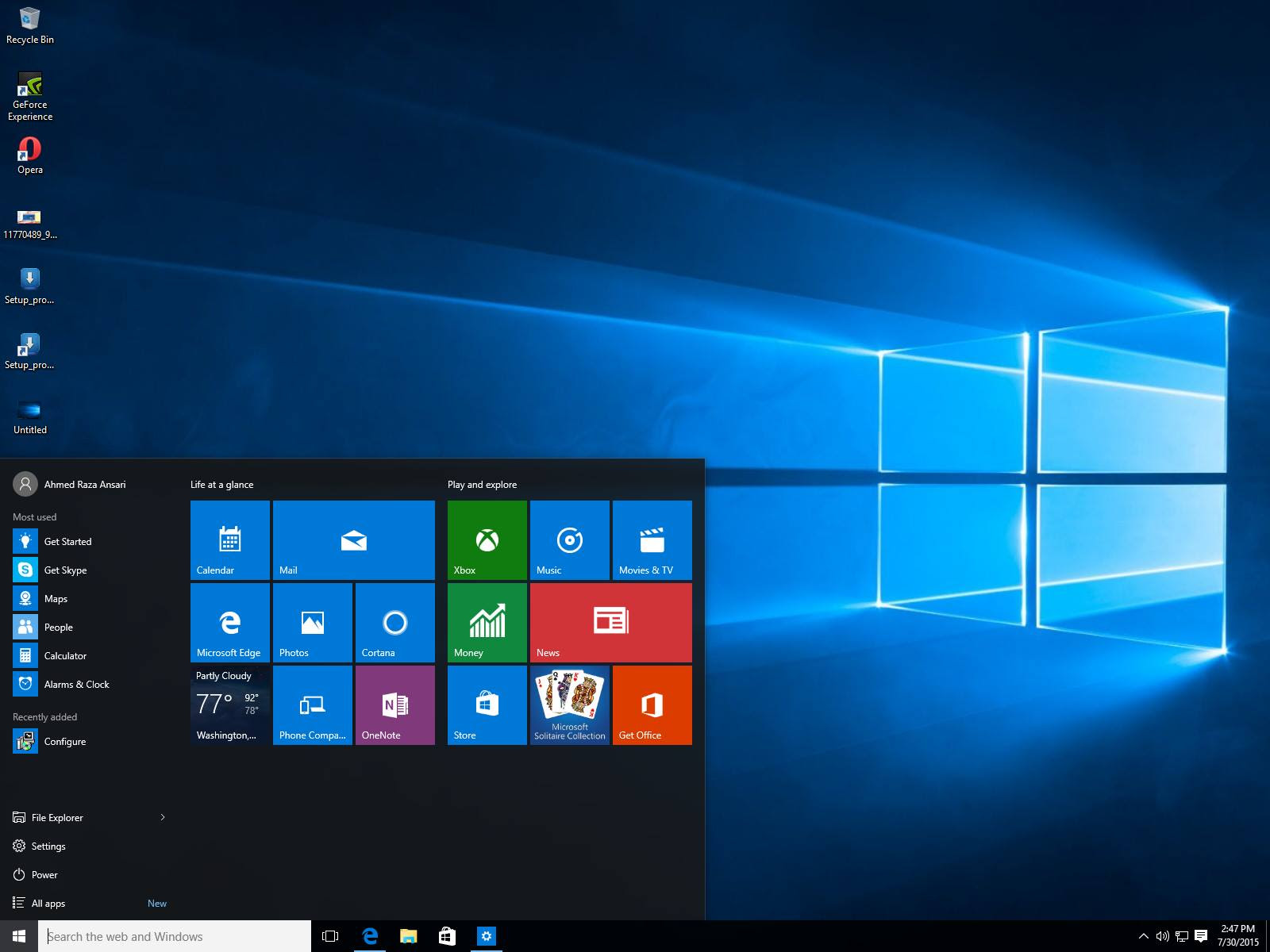 Download or Get Windows 10 Officially