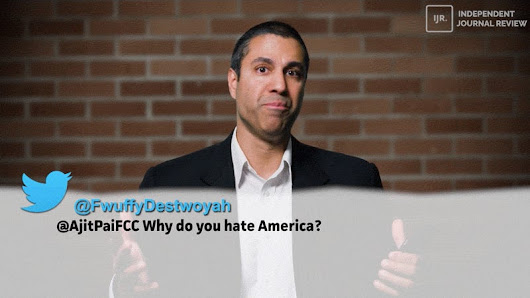 FCC Chairman Is Laughing at Americans Who Don't Want to Kill the Open Internet