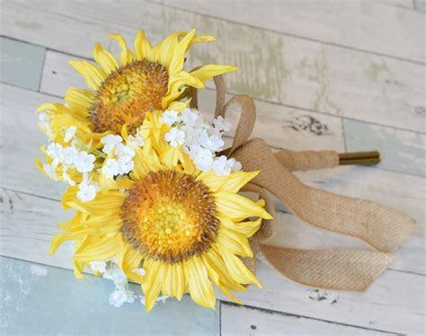 Natural Touch Sunflower Bouquet