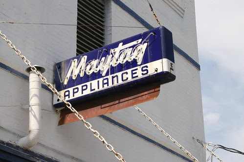 maytag sign on vogel's
